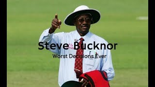 Download Steve Bucknor's Worst Umpiring Decisions Ever - Highlight Compilation - Cricket Umpiring Video