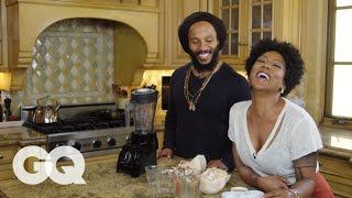 Download Ziggy Marley Cooks You Breakfast: Coco Love Juice | GQ Video