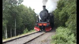 Download Steam locomotives Ånglok SJ E2 1122 tillverkat 1912, JÅÅJ Åmål 2008 Toreolsson Video
