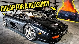 Download I'm Rebuilding A Dirt Cheap Ferrari F355 (Destroyed By FIRE) Video