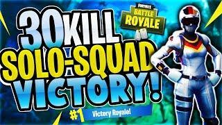 Download INSANE 30 Kill SOLO-SQUAD Win! (Fortnite Battle Royale) Video