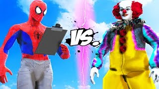 Download SPIDERMAN (INTO THE SPIDER-VERSE) VS PENNYWISE 1990 (CLASSIC) Video