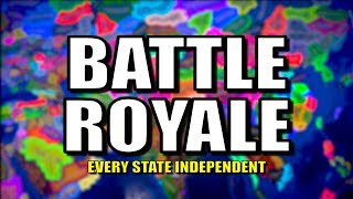 Download All States Become Nations - Battle Royale! | Hearts of Iron 4 (HOI4) Video