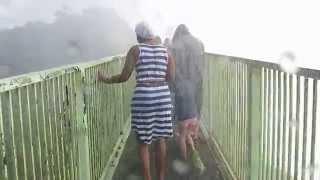 Download Crossing the Knife-edge Bridge - Victoria Falls, Zambia Video