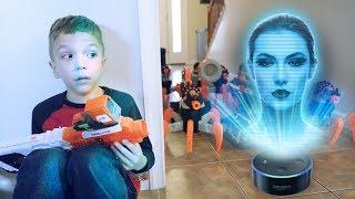 Download Nerf War: Alexa Attacks Video