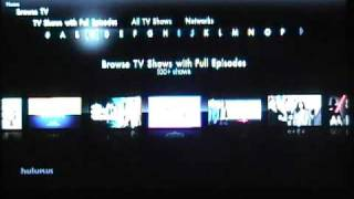 Download Hulu Plus on the PS3 Video