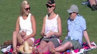 Download Girl imitating sex at the cricket Video