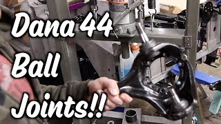 Download 3.24 - Ball Joints and Knuckles - Dana 44 - Part 6 of Gears and Axles Video