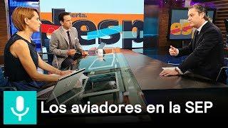 Download Aurelio Nuño habla sobre los 'aviadores' detectados en la SEP - Despierta con Loret Video