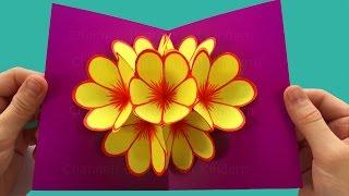 Download Basteln: Pop-Up Karten basteln mit Papier - DIY Geschenke: Bastelideen & Geschenkideen Video