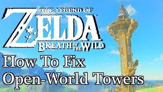 Download How Legend of Zelda: Breath of the Wild Fixes ″Ubisoft Towers″ Video