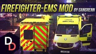 Download Firefighter/EMS Mod #5 - London Ambulance - GTA IV British Video