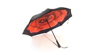 Download BetterBrella Auto Open Reverse Umbrella with Lit Handle Video