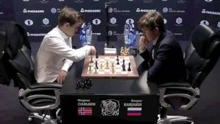 Download Magnus Carlsen Queen Sacrifice World Championship 2016 Video