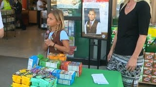 Download 9-Year-Old Girl Scout Gets Counterfeit Money While Selling Cookies Outside Video