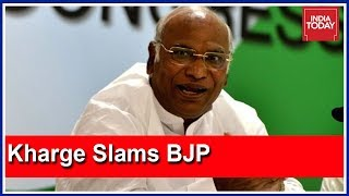 Download BJP Can't Create Rift Between JDS And Congress In Karnataka : Mallikarjun Kharge Video