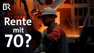 Download Immer länger arbeiten ... Rente mit 70? | DokThema | BR Fernsehen Video