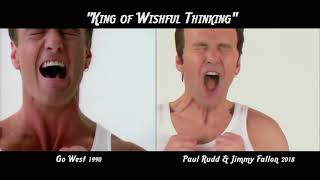 Download ″King of Wishful Thinking″ - Go West versus Paul Rudd & Jimmy Fallon Comparison Video