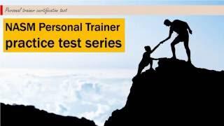 Download NASM Personal Trainer practice test #1 Video