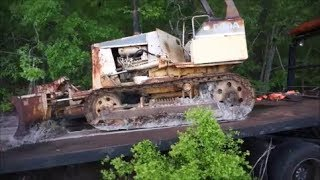 Download Komatsu D20A Rescue Sitting For Years Video