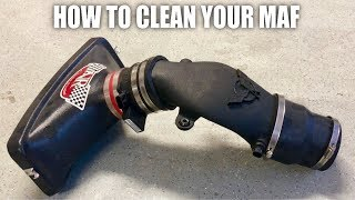 Download How To Clean A Mass Air Flow Sensor Video