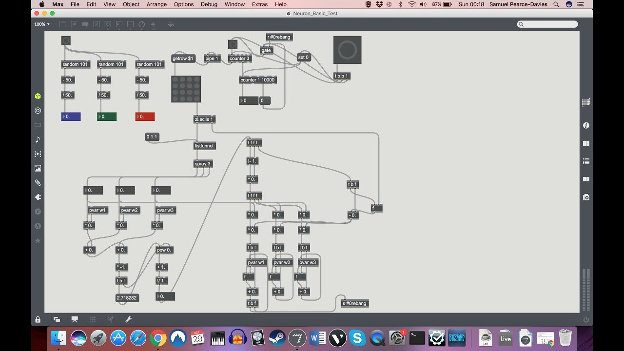 Stream maxmsp neural network tutorial 1 our first neuron 065387 maxmsp neural network tutorial 1 our first neuron baditri Gallery