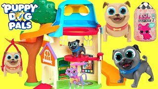 Download Puppy Dog Pals Move into a New House and Find LOL Surprise Treasure Video