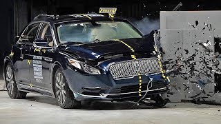 Download Lincoln Continental (2017) Crash Test [YOUCAR] Video