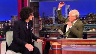 Download Howard Stern on David Letterman - November 22 2013 - Full Interview Video