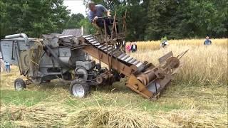Download Kombajn samoróbka z Sanoka (silnik 1HC102R1) (Muzeum Wsi Radomskiej) Video