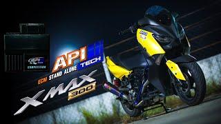 Download X-Max 300 Turbo ช่างบาส เพรชเกษม แรงแค่ไหนไปชมกัน By APITech Video