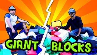 Download EPIC BLOCK BASE CHALLENGE! (Real Life Base vs Base) Video