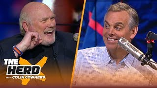 Download Terry Bradshaw on the Patriots' playoff dominance, Mahomes vs Luck & Dak's value | NFL | THE HERD Video