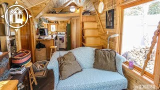 Download Her Whimsical Tiny House Looks Like a Fairytale Video