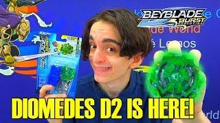 Download DIOMEDES D2 IS HERE! QR CODE + BATTLES BEYBLADE BURST EVOLUTION Video