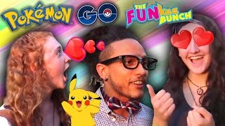 Download Pokemon Go! Nerdy Boy meets FUNkee Bunch in the Park! Elyssa and Heidi fall in love! Video