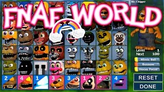 Download ALL CHARACTERS UNLOCKED!!!! [Ep. 25] | FNaF World : UPDATE 2 Video