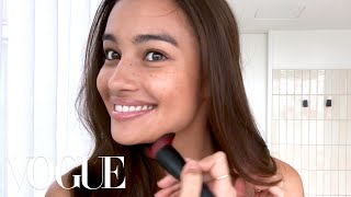 Download Victoria's Secret Model Kelsey Merritt's Guide to Freckles & Better Brows | Beauty Secrets | Vogue Video