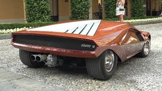 Download 1970 Lancia Stratos HF Zero Concept - Start Up Sound, Driving, Overview & More! Video
