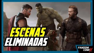Download Infinity War: Escenas Eliminadas Video