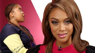 Download Surprise Staring Contest With Tyra Banks Video