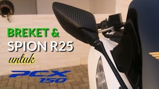Download Paket Breket dan Spion R25 untuk PCX 2018 Video