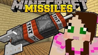 Download Minecraft: DEADLY MISSILES (MINING, NUCLEAR, & POISON GAS MISSILES! ) Custom Command Video