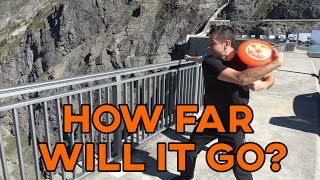 Download THROWING FRISBEES FROM 200m DAM?! | How Ridiculous Video