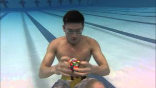 Download 3 Rubik's cubes solved Underwater in 1 minute! Video