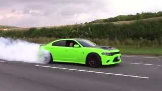 Download Dodge Charger Hellcat - INSANE BURNOUT & Accelerations Video
