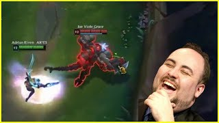 Download How Much Damage Riven Can Do Against a Season 8 Tank Cho'Gath ? - Best of LoL Streams #312 Video