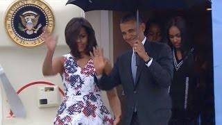 Download President Obama arrives in Cuba on historic visit Video