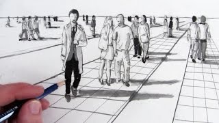 Download How to Draw People in Perspective Video