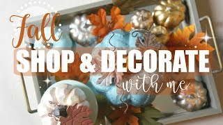 Download Decorate For FALL With Me! + Shop With Me For FALL Decor!! | Maranda Christine Video